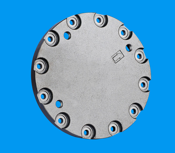 EX200-5 walking end cover 9931