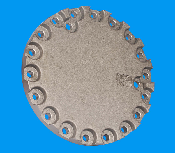 PC200-6 (6D102) walking end cover