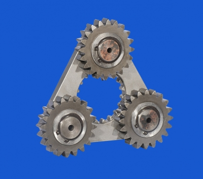PC120-6 (mountain push) rotary primary star frame assembly